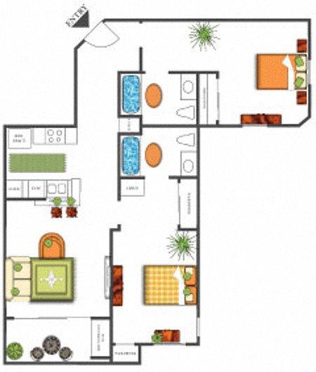 Cypress Point Floor Plan 6