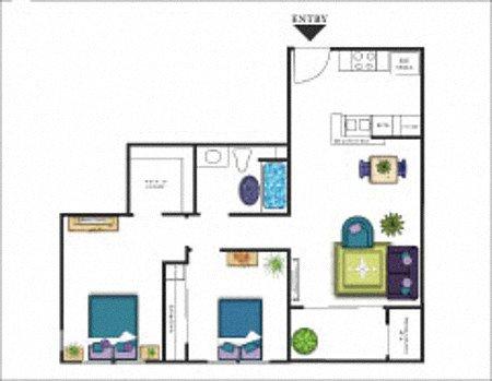 Pebble Beach Floor Plan 3