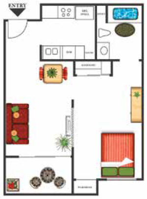 Antigua Floor Plan 1