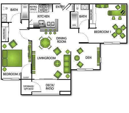 Grand Caymen Floor Plan 5