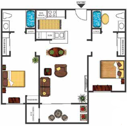 Dominique Floor Plan 4