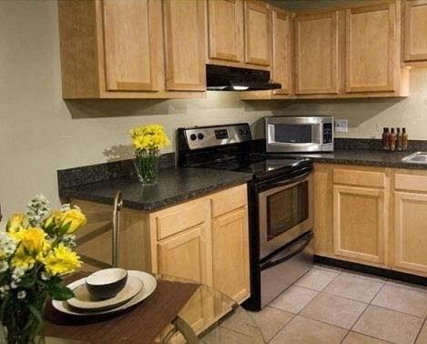 Apartments in Toledo Kitchen