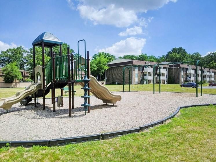 playground at Toledo OH apartments