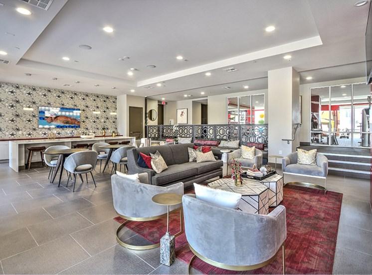 Unique Lounge Area at Lotus, Las Vegas, NV, 89102