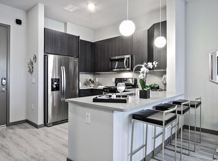 Fully Equipped kitchen at Lotus, Las Vegas, NV, 89102