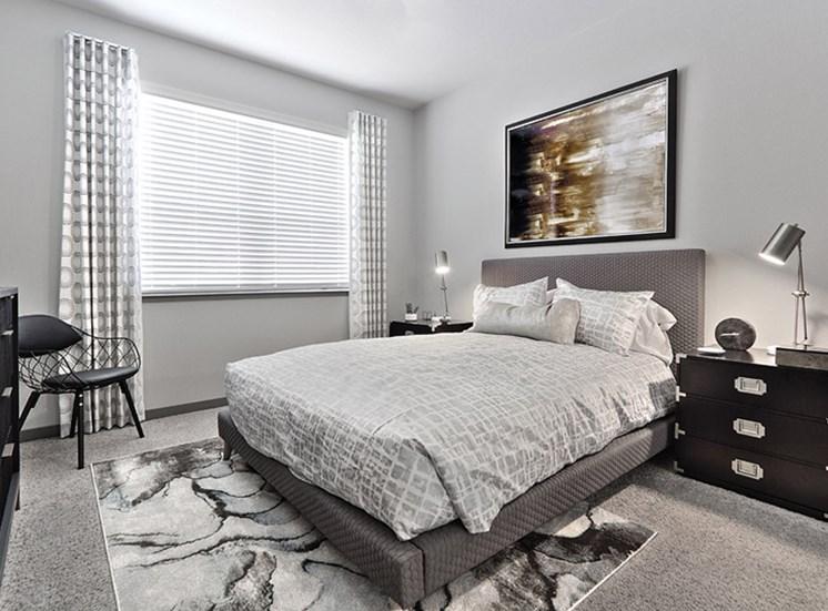 Transitional Master Carpeted Bedroom at Lotus, Las Vegas, 89102