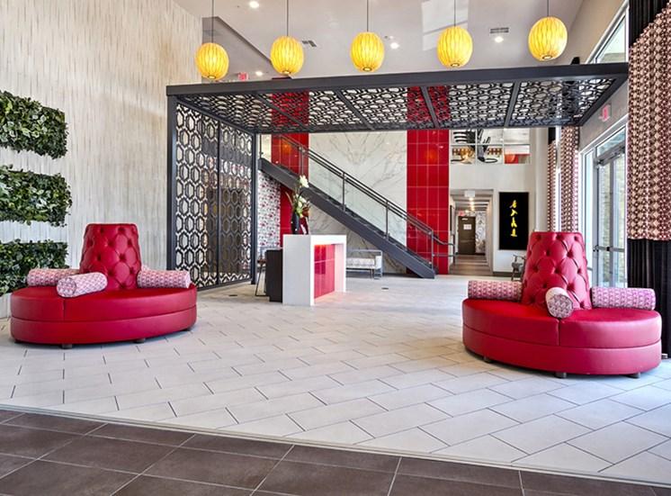 Resident Lounge at Lotus, Las Vegas, Nevada