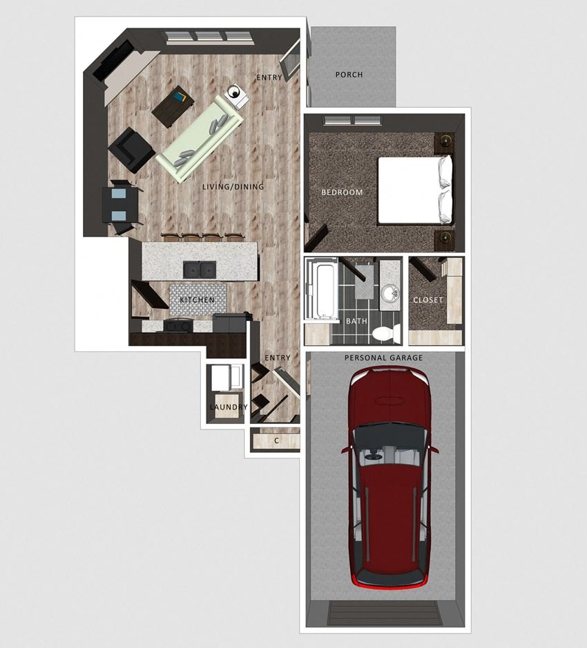 Embry floor plan- The Villas at Falling Waters