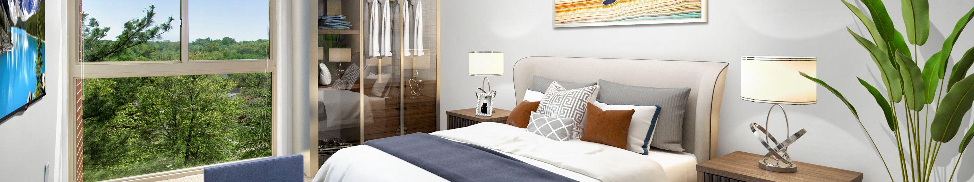 Horizon Square bedroom in Laurel, MD