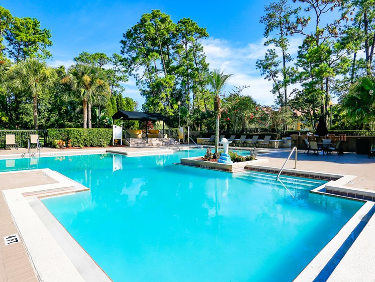 Swimming Pool With Relaxing Sundecks at The Adelaide, Florida, 32821