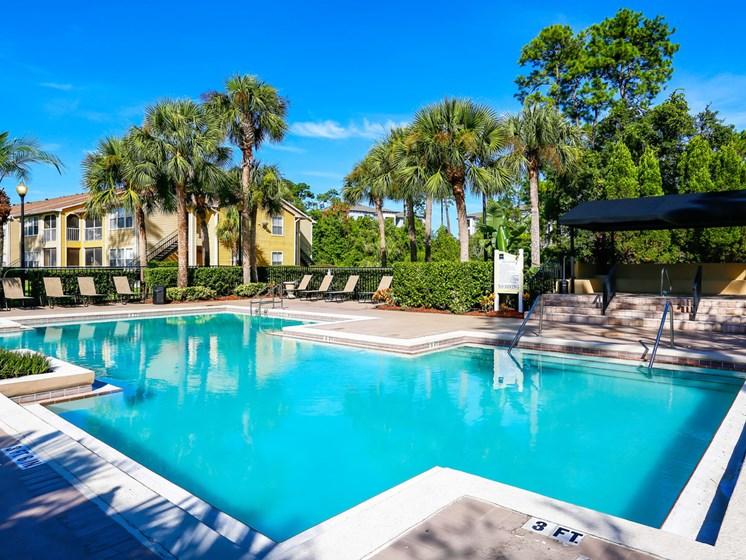 Outdoor Swimming Pool at The Adelaide, Orlando, FL, 32821