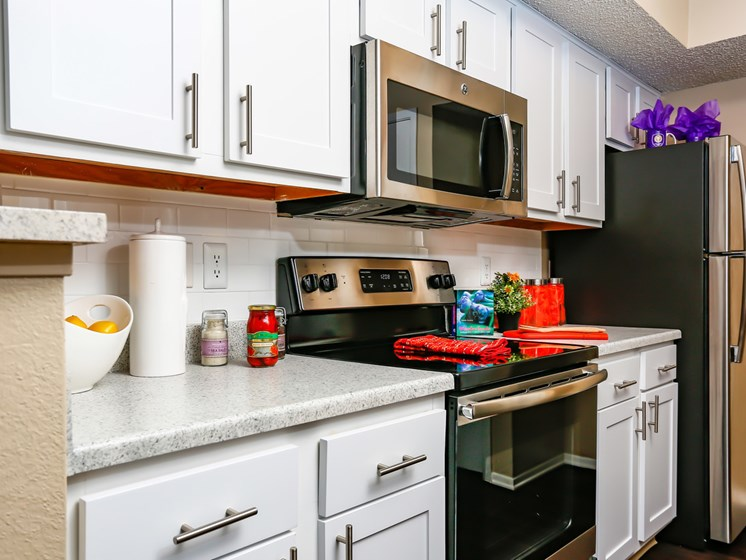 Refrigerator And Kitchen Appliances at The Adelaide, Orlando, 32821