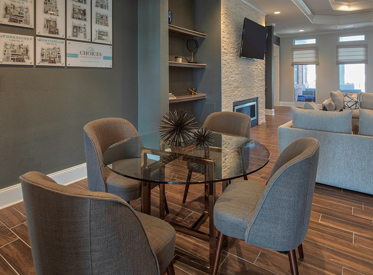 Seating at the Resident Clubhouse