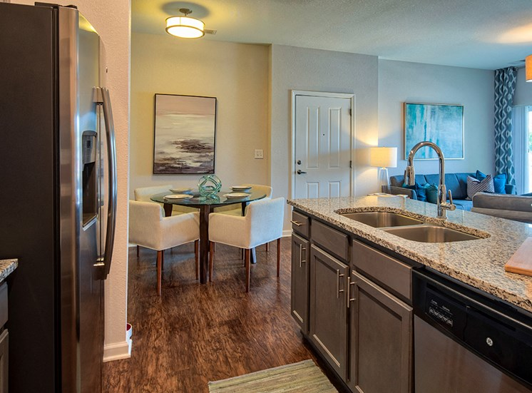 Gourmet Kitchens at The Choices Apartments