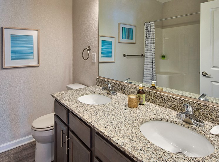 Bathroom at The Choices Luxury Apartments