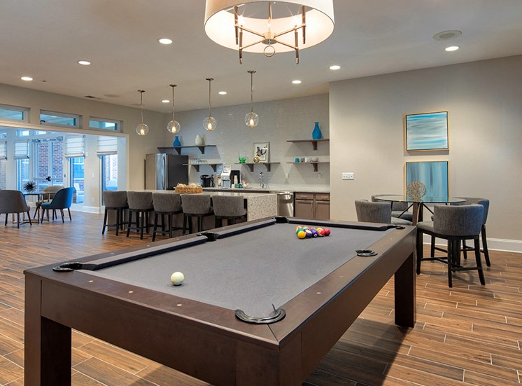 Billiards in Resident Clubhouse
