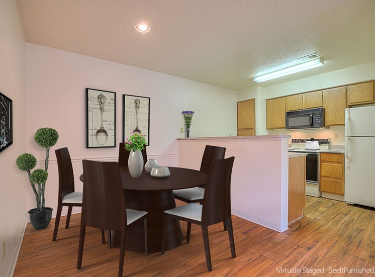 Built-In Pantry Available at The Overlook Apartments, New Mexico, 87111