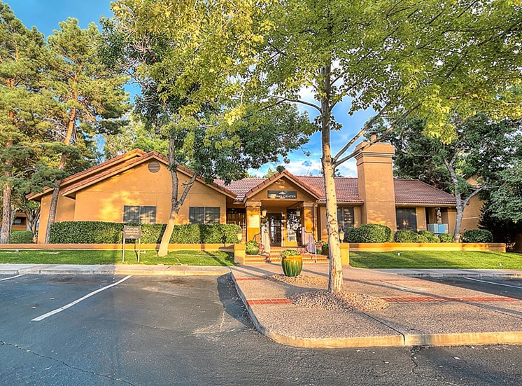 Parking Area at The Overlook Apartments for rent in Albuquerque, NM 87111