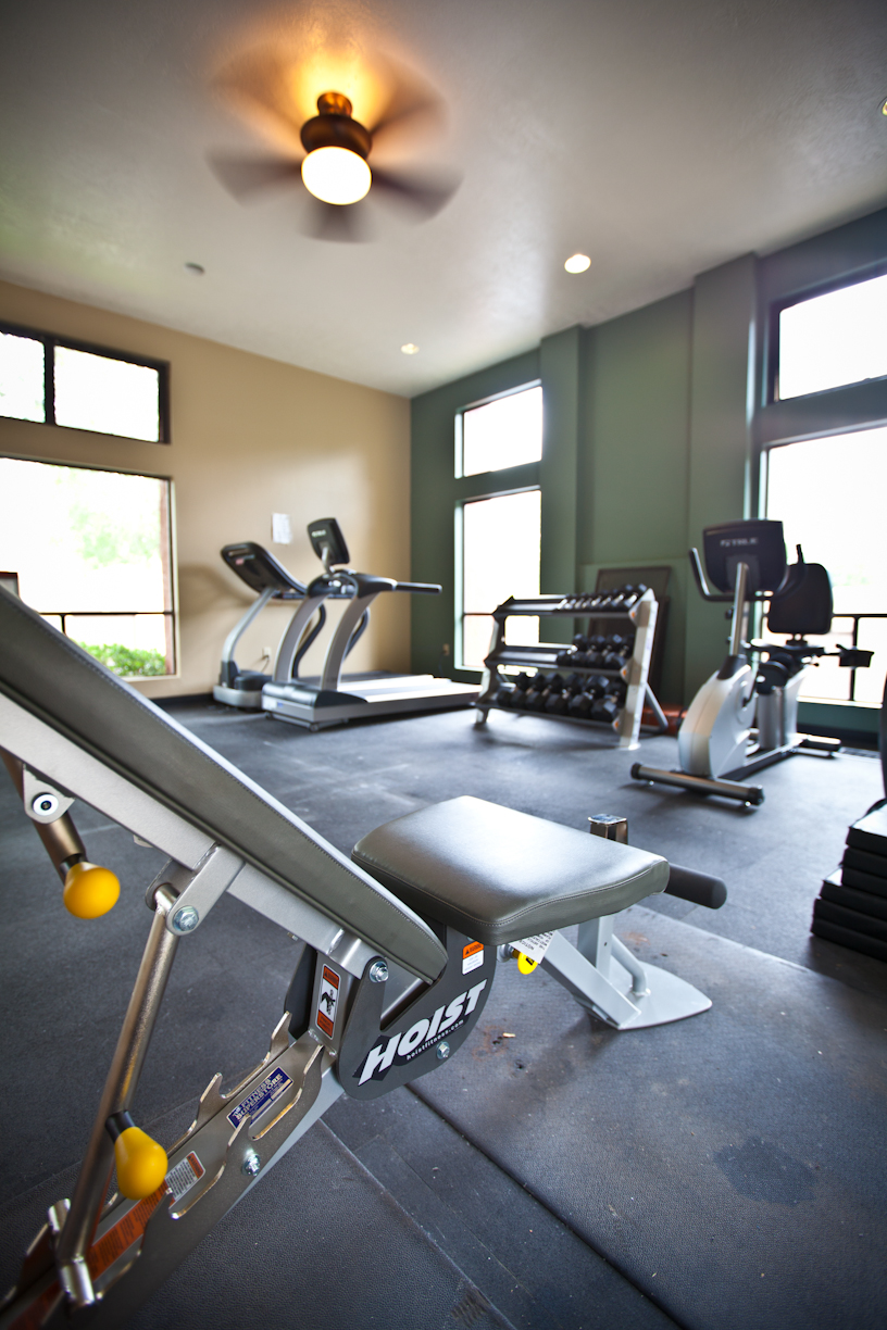 State-of-the-Art Fitness Center  at Mesa Del Oso Apartments, Albuquerque, 87111