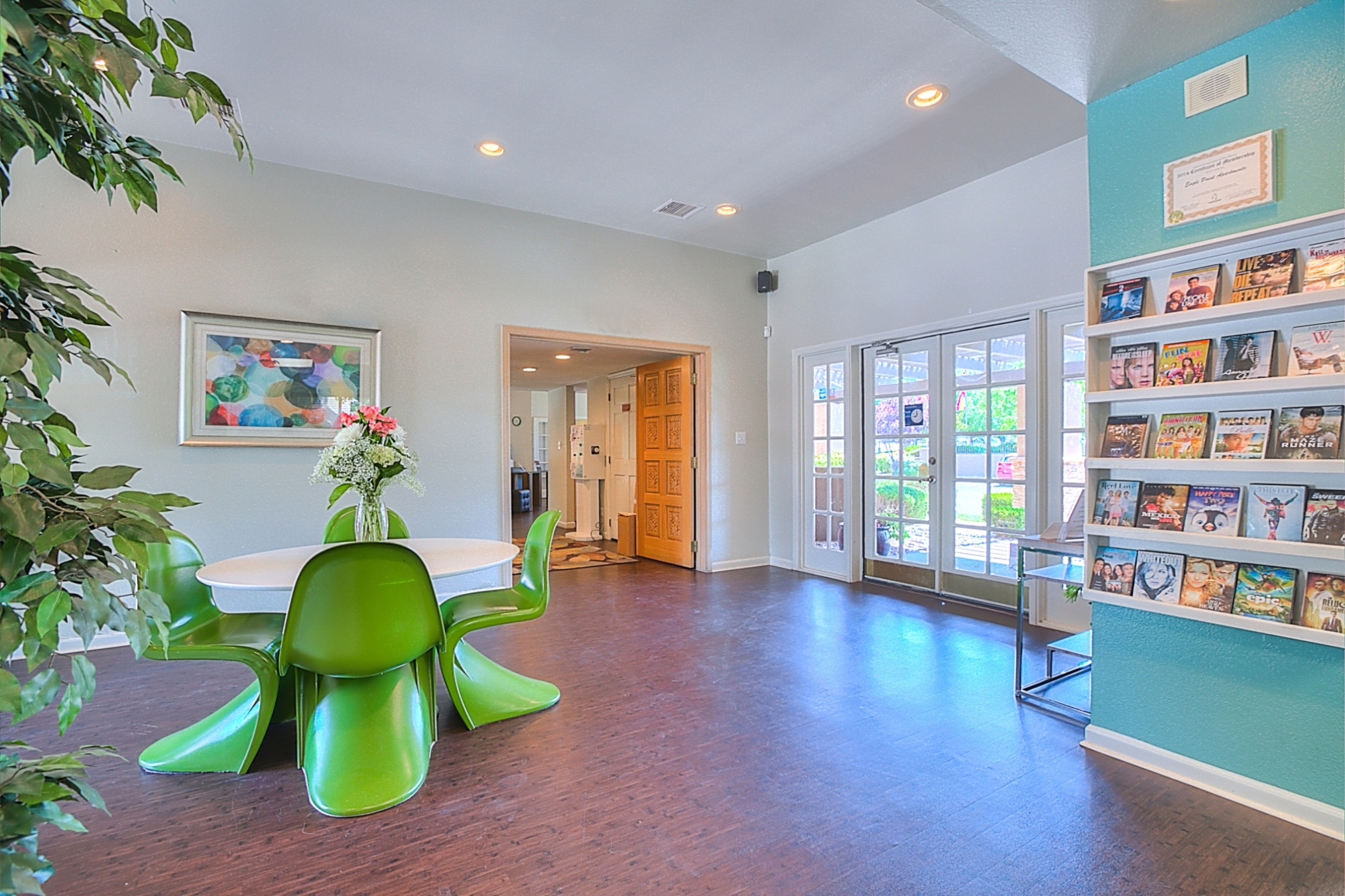 Newly Renovated Clubhouse at Eagle Pointe Apartments, Albuquerque, 87111