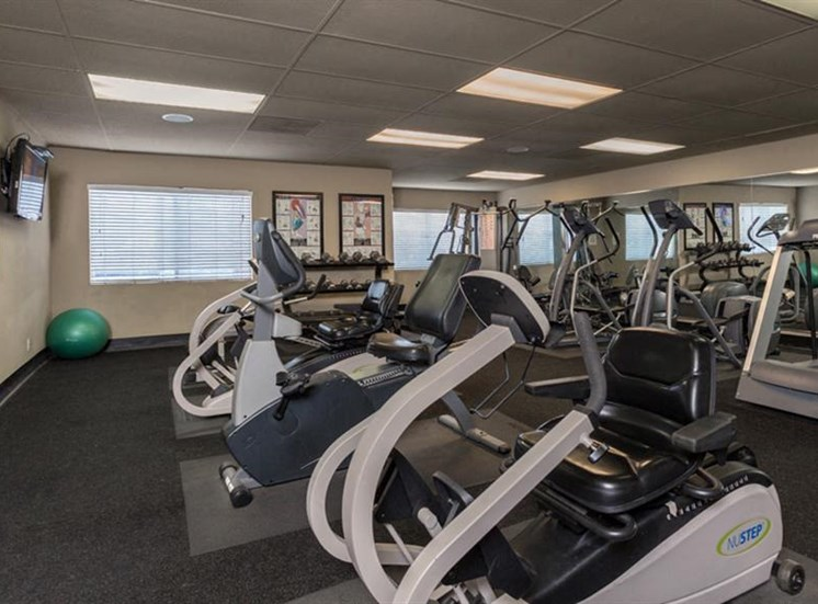 24/7 Fitness Center at The Towers Apartments, 5404 Montgomery Boulevard NE