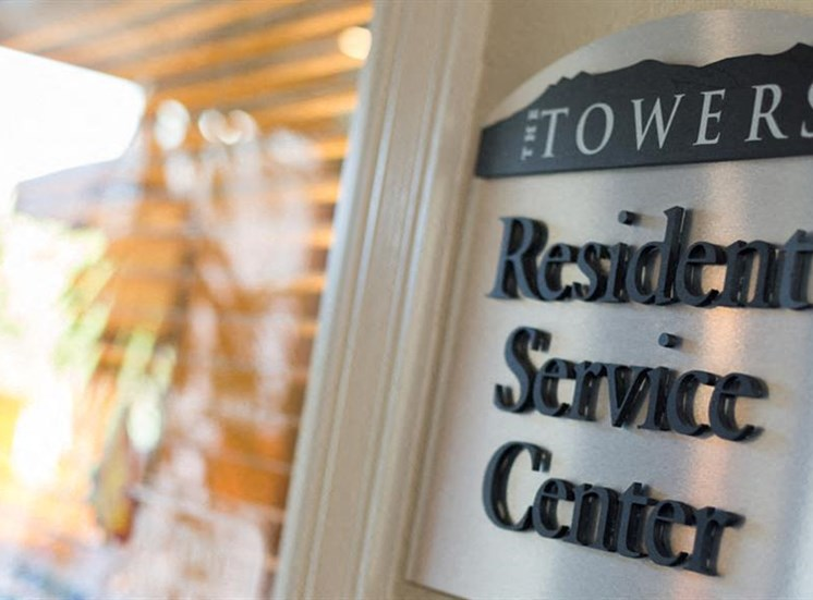 Designated Resident Service Center at The Towers Apartments, 5404 Montgomery Boulevard NE