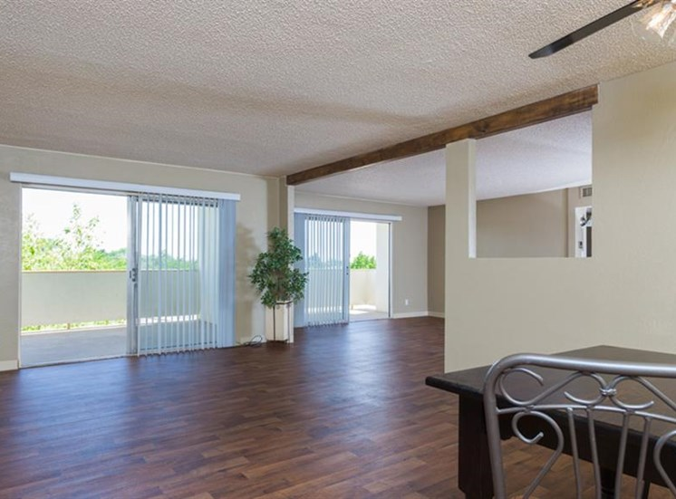 Open Floor Plans  With Attached Balcony at The Towers Apartments, New Mexico, 87109