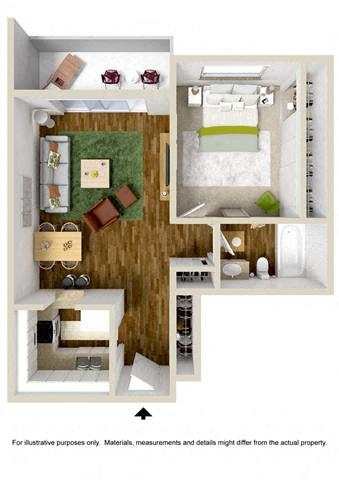 Fine Studio 1 2 3 Bedroom Apartments In Abq Nm The Towers Interior Design Ideas Skatsoteloinfo