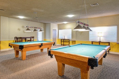 Social Center with Pool Tables