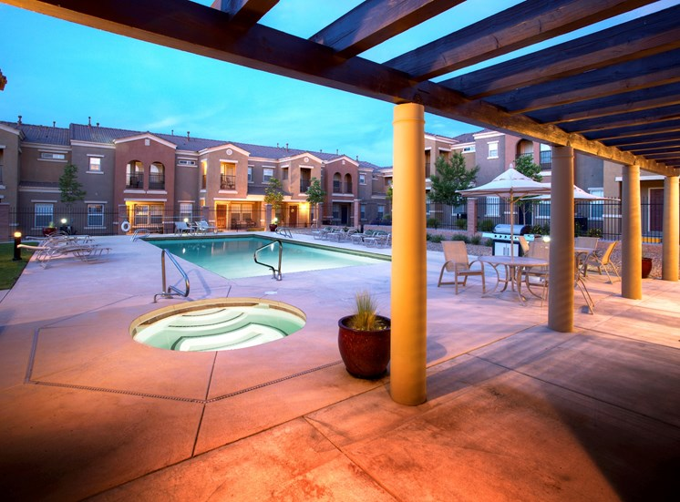Heated Spa at Cantata at the Trails Apartments, New Mexico, 87114