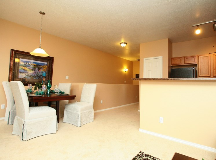 Personal Dinning Area at Cantata at the Trails Apartments, Albuquerque, New Mexico