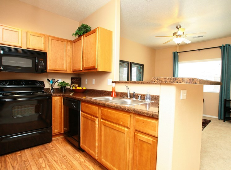 Dining Room Or Eat-In Kitchen at Cantatat Cantata at the Trails Apartments, Albuquerque, 87114