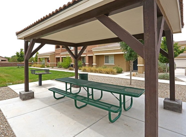 Outdoor Deck With BBQ Area at Cantata at the Trails Apartments, NM, 87114