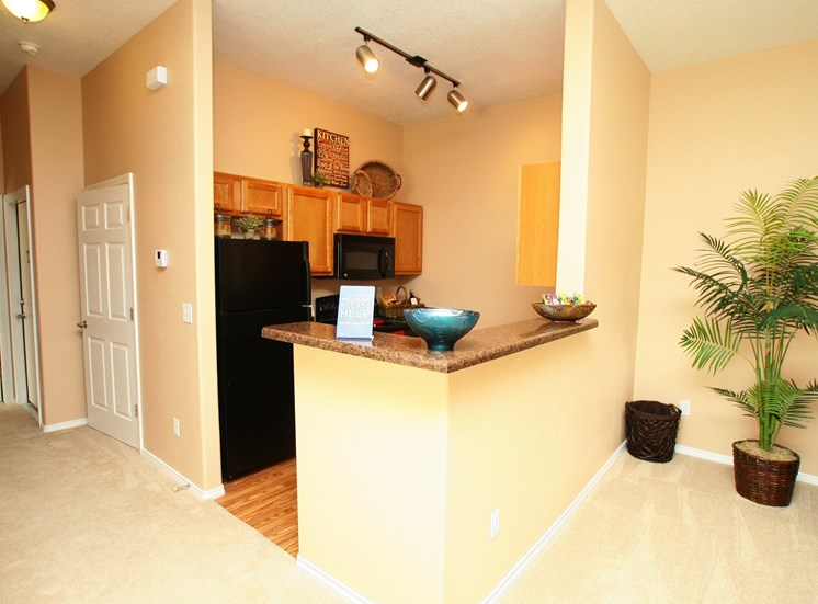 Gourmet Kitchen with Breakfast Bar and Pantry at Cantata at the Trails Apartments, 6700 Cantata Street, NM