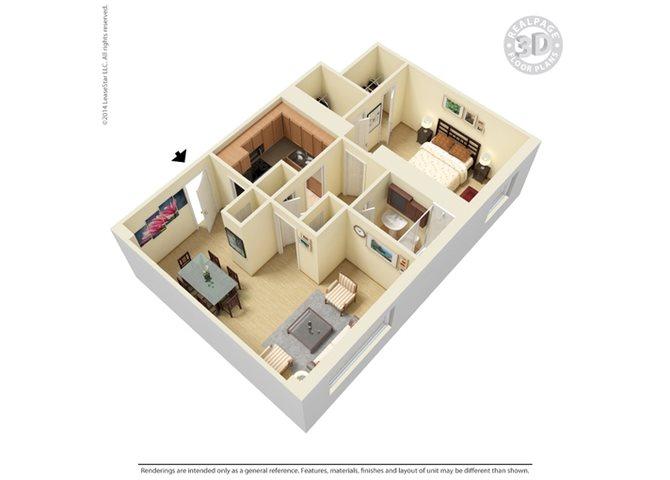 The Skyline Floor Plan 2