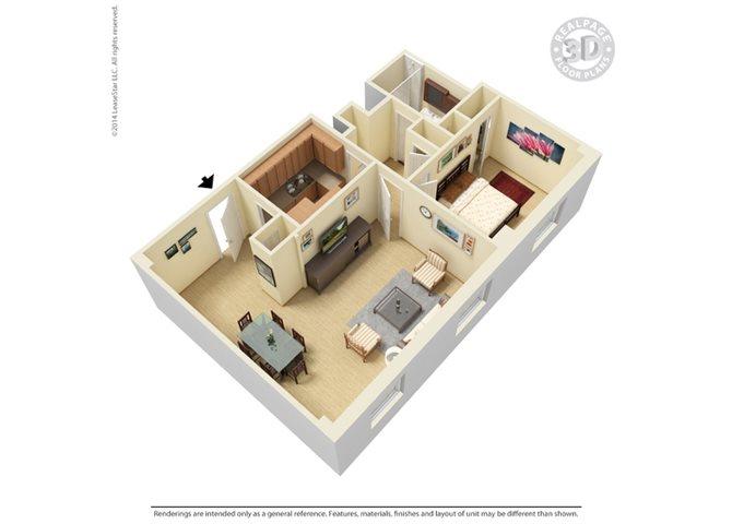 The View Floor Plan 3