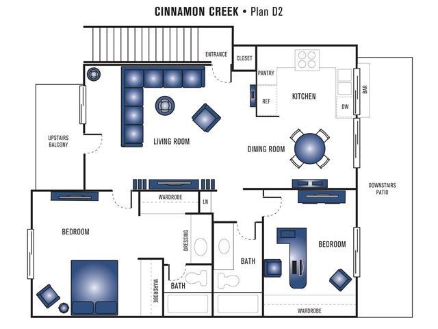Plan D2 Floor Plan 7