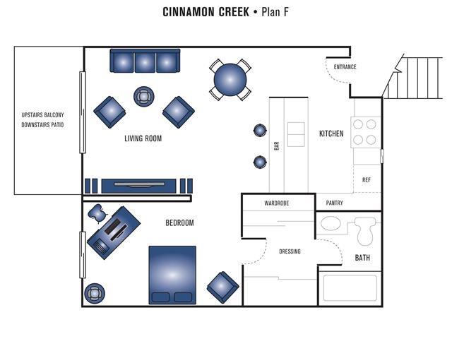 Plan F Floor Plan 1