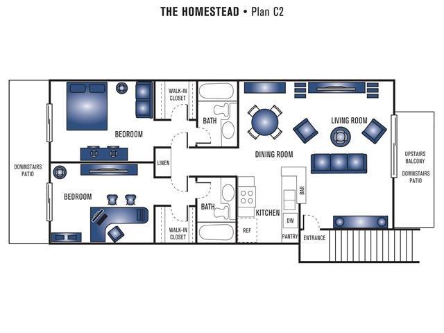 Plan C2 Floor Plan 7