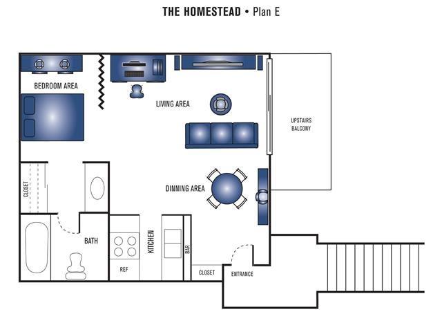 Plan E Floor Plan 1