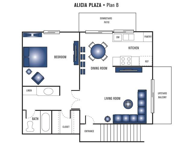 Plan B Floor Plan 1
