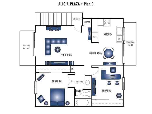 Plan D Floor Plan 2