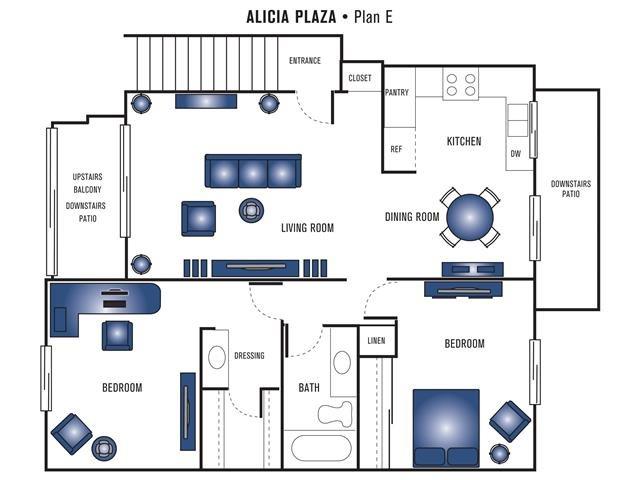 Plan E Floor Plan 3