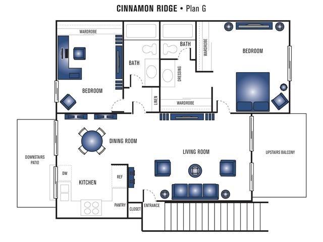 Plan G Floor Plan 3
