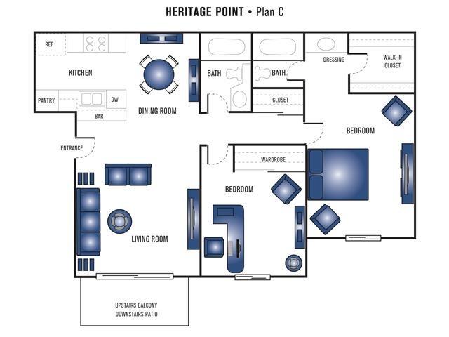 Plan C Floor Plan 6