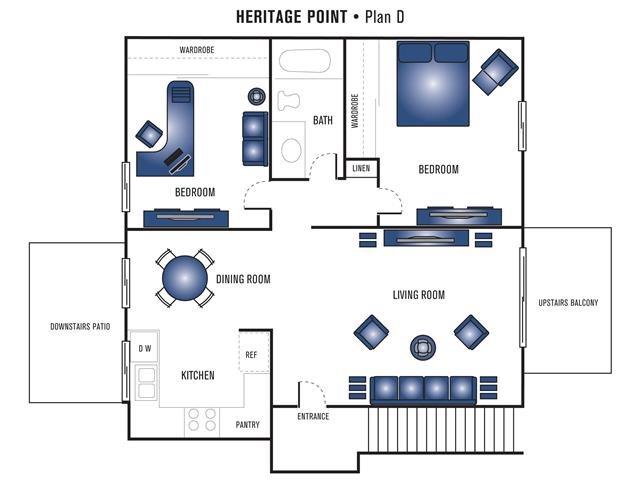 Plan D Floor Plan 5