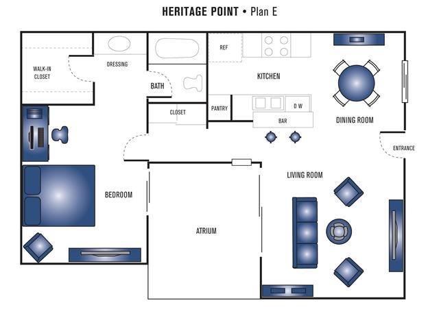 Plan E Floor Plan 2