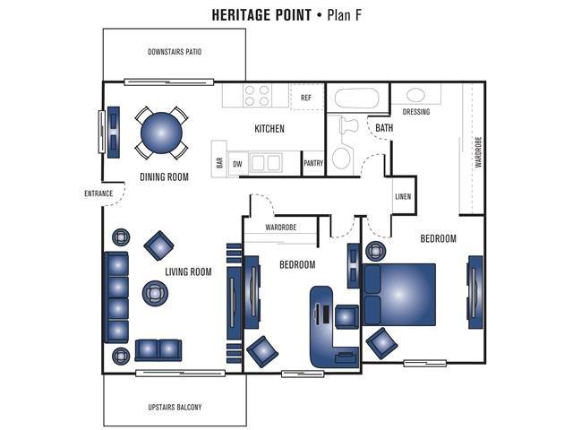 Plan F Floor Plan 4