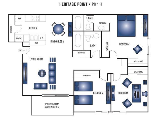 Plan H Floor Plan 8