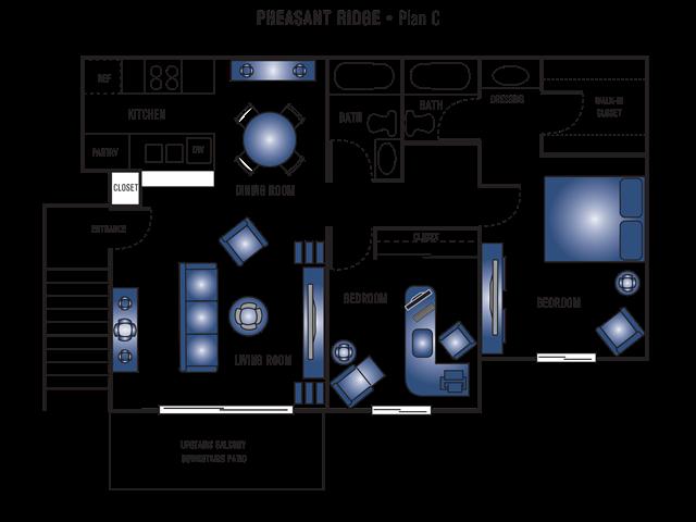 Plan C Floor Plan 8